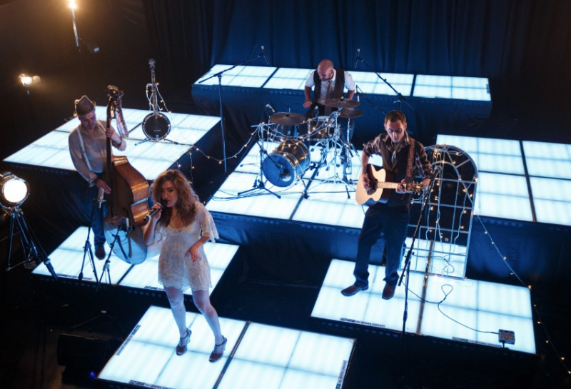 band performing Live